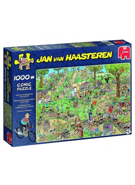 Jan van Haasteren WK Veldrijden - 1000 stukjes
