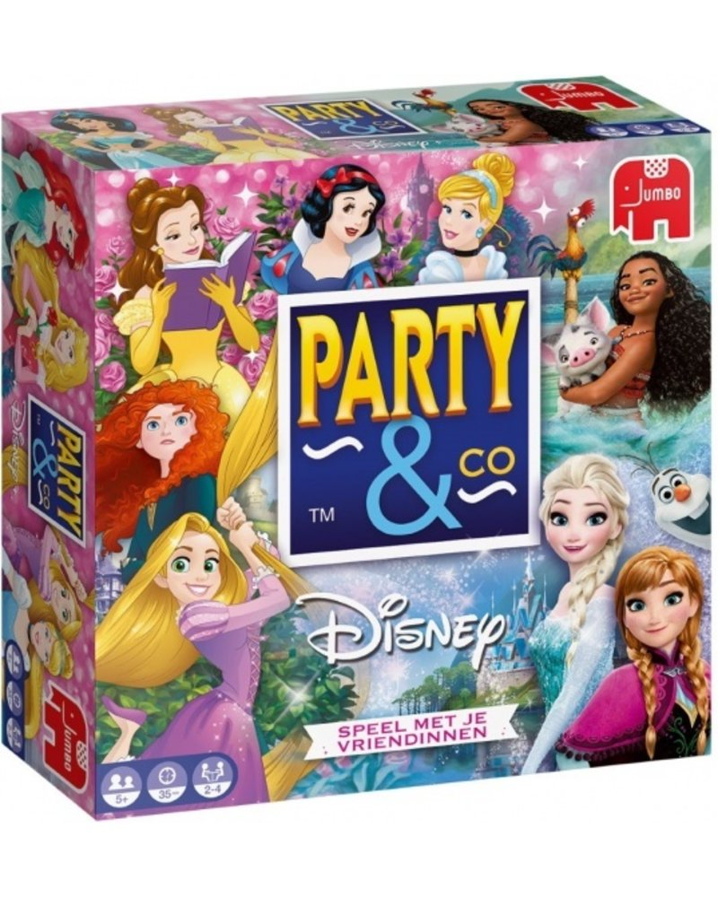 Jumbo Party & Co Disney Princess