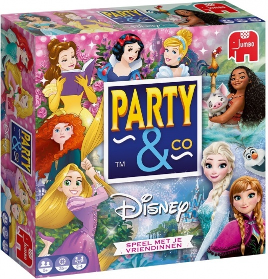 Jumbo Party & Co Disney Princess