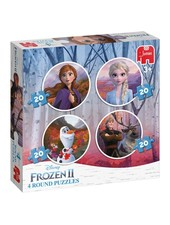 Jumbo Disney Frozen 2 - 4in1 puzzel 20 stukjes