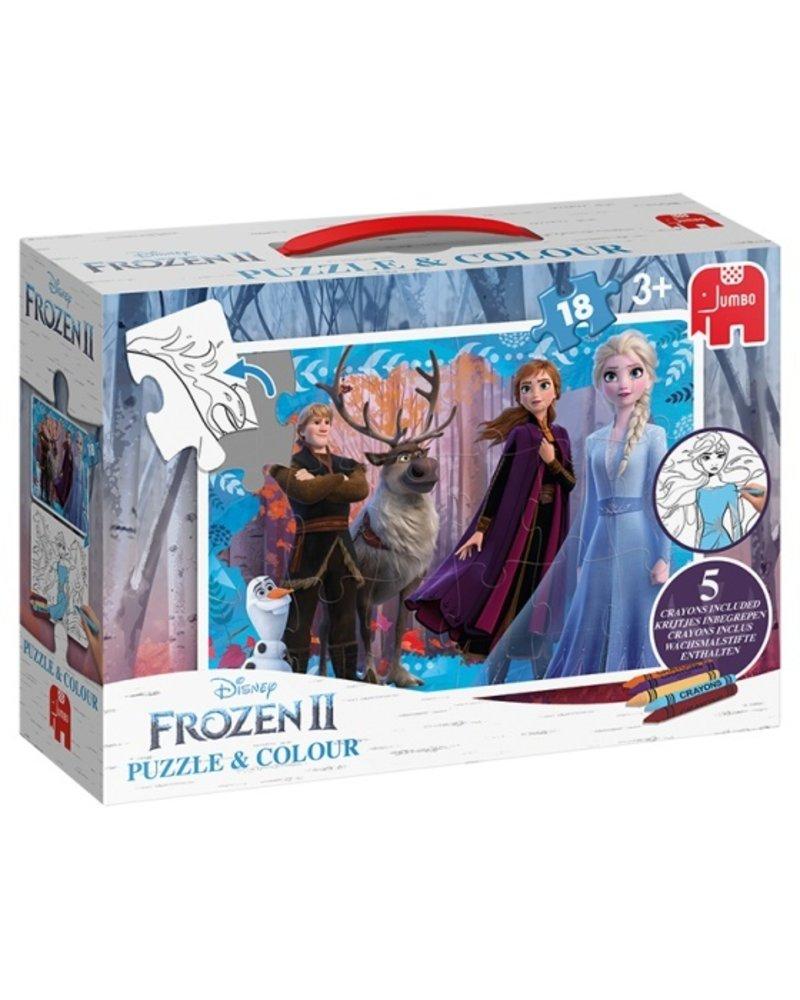 Jumbo Disney Frozen 2 18 stukjes puzzel