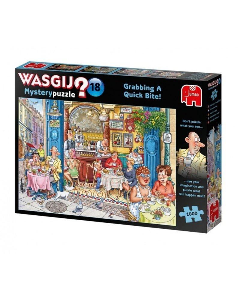 Jumbo Wasgij Mystery Puzzle 18 - 1000 stukjes
