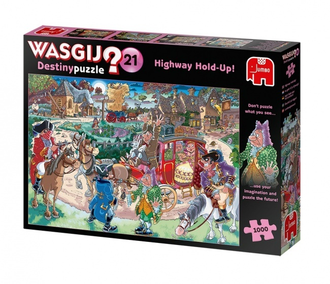 Jumbo Wasgij Destiny Puzzle 21 - 1000 stukjes