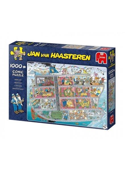 Jan van Haasteren Cruise Ship - 1000 stukjes