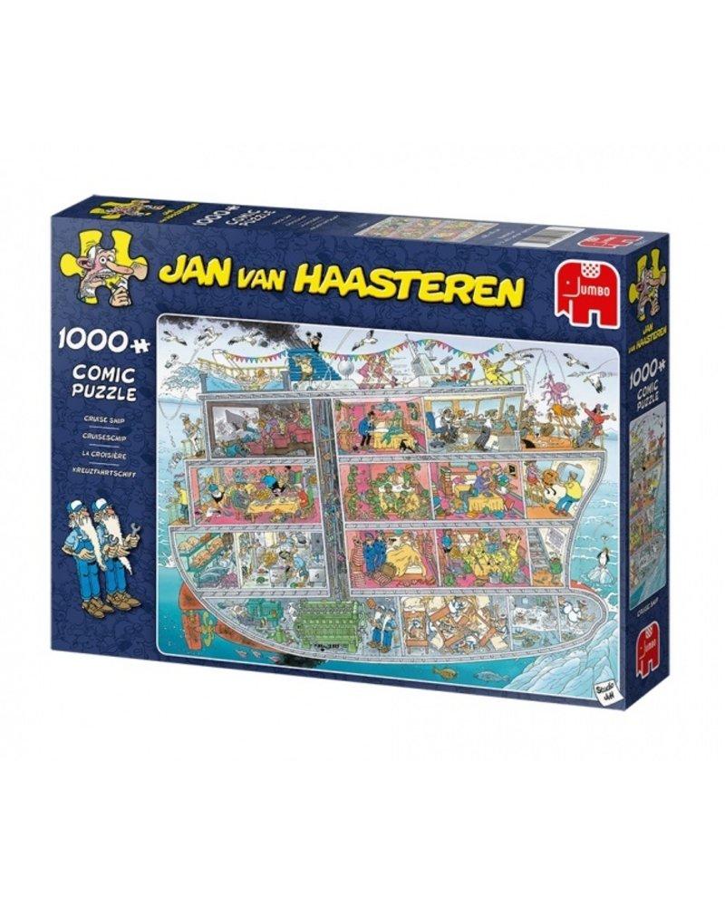 Jan van Haasteren Jan van Haasteren - Cruise Ship - 1000 stukjes