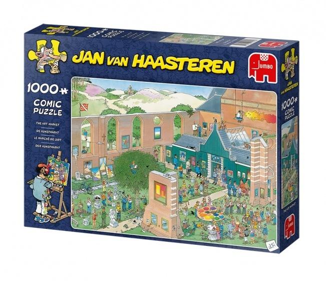 Jan van Haasteren The Art Market - 1000 stukjes