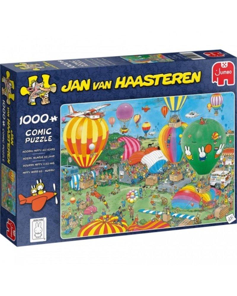Jan van Haasteren Jan van Haasteren - Nijntje 65 jaar - 1000 stukjes