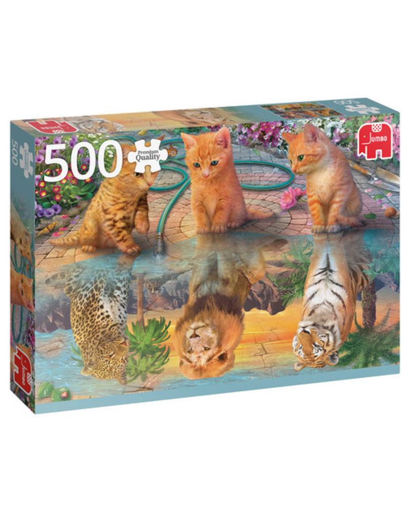 Jumbo Een kattendroom - 500 stukjes