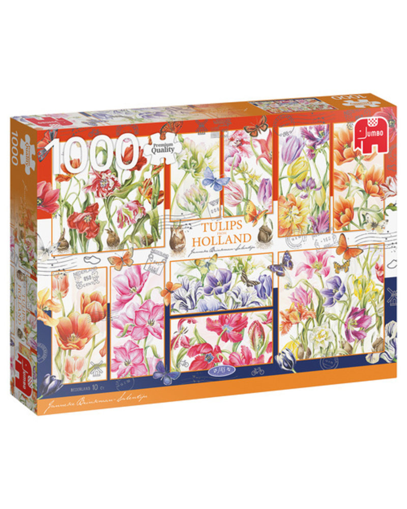 Jumbo Janneke Brinkman: Nederlandse tulpen - 1000 stukjes