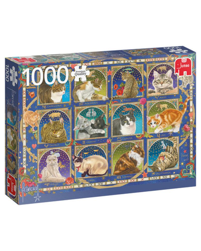 Jumbo Kattenhoroscoop - 1000 stukjes