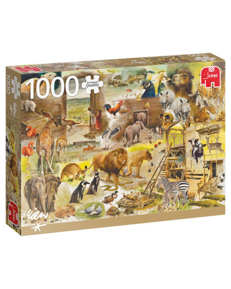 Jumbo Rien Poortvliet: Bouw van de Ark van Noach - 1000 stukjes