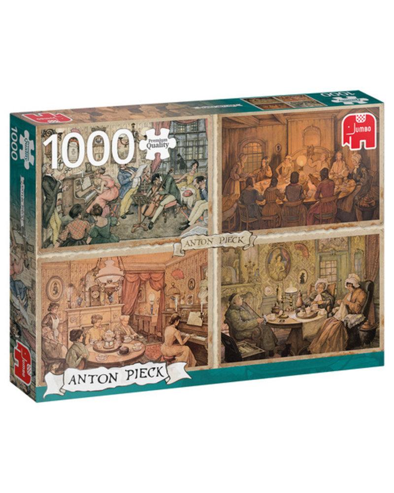 Jumbo Anton Pieck: Living Room Entertainment - 1000 stukjes
