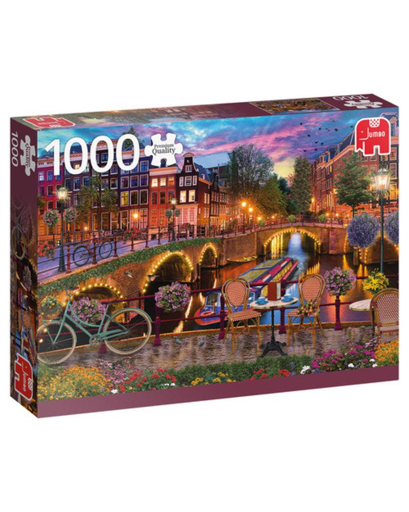 Jumbo Amsterdamse grachten - 1000 stukjes