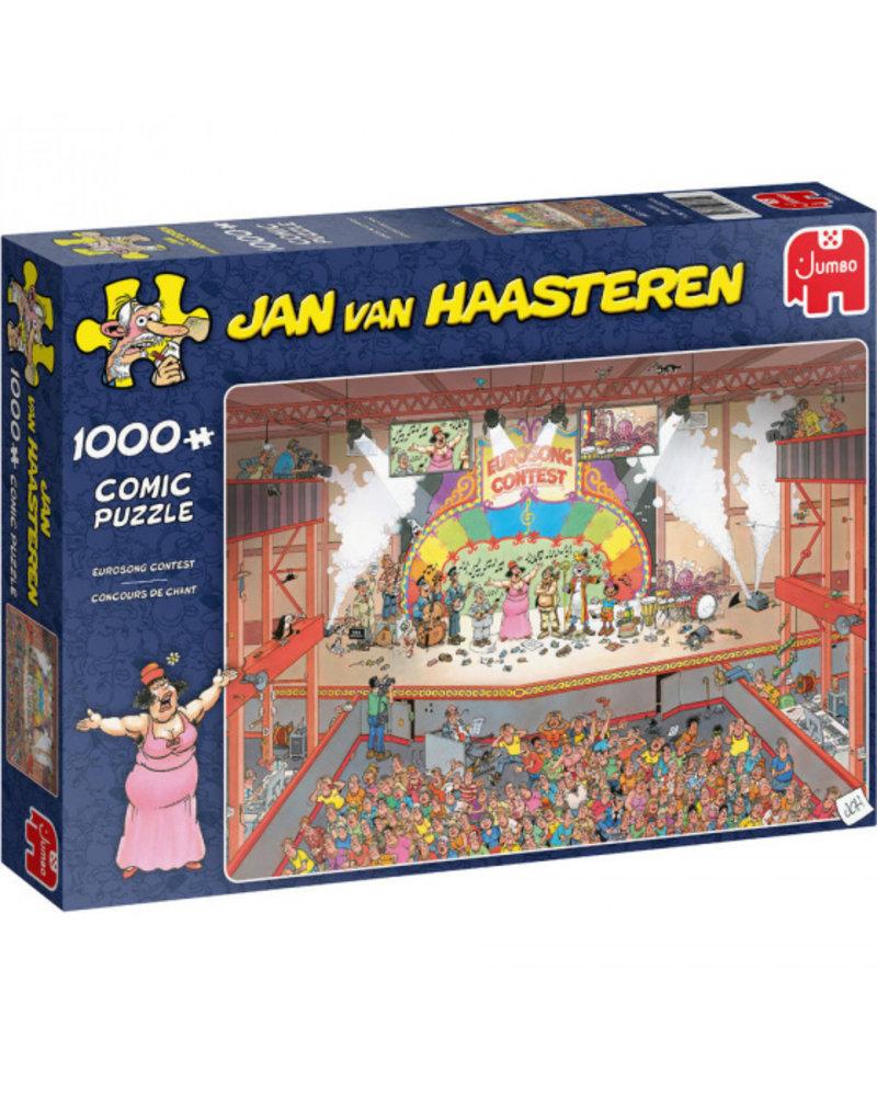 Jan van Haasteren Jan van Haasteren Eurosong Contest - 1000 stukjes