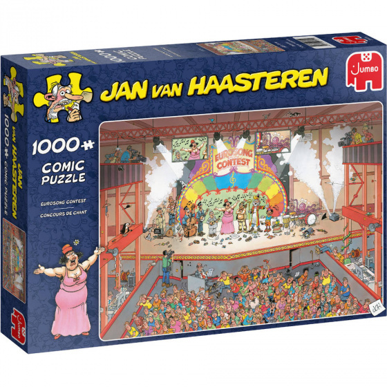 Jan van Haasteren Eurosong Contest - 1000 stukjes