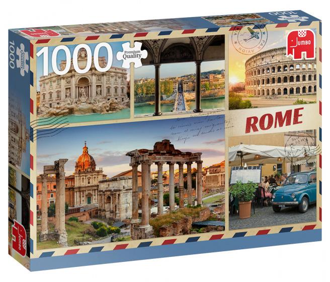 Jumbo Greetings from Rome - 1000 stukjes