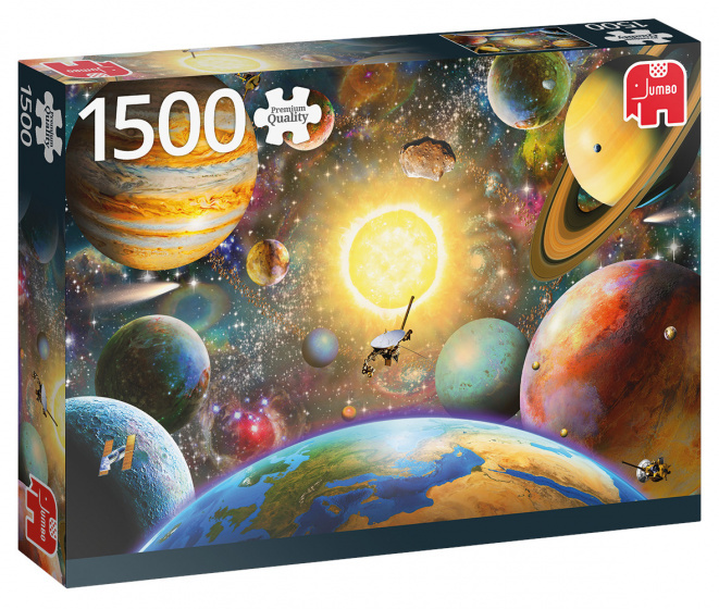 Jumbo Floating in Outer Space - 1500 stukjes
