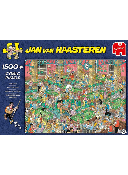 Jan van Haasteren Krijt op tijd - 1500 stukjes