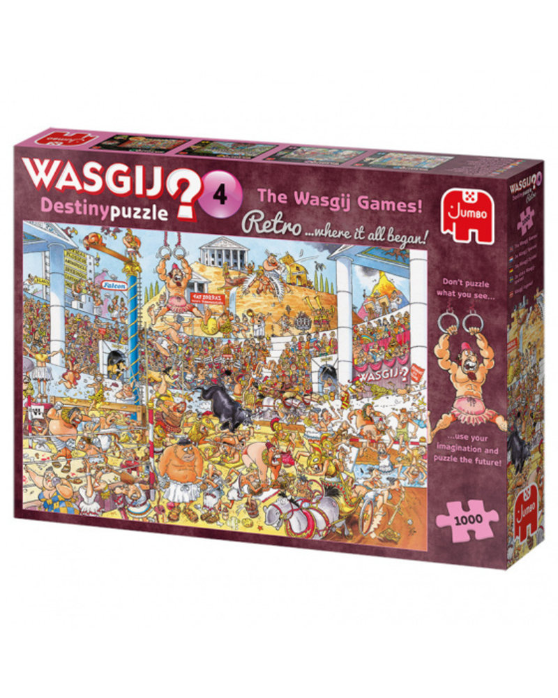 Jumbo Wasgij Destiny - De Wasgij Spelen - 1000 stukjes