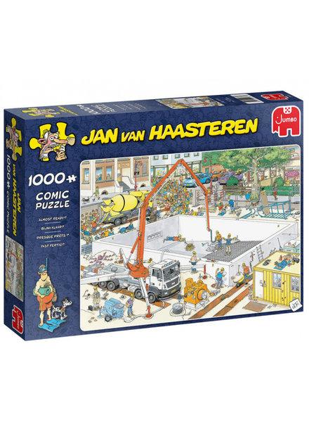 Jan van Haasteren Bijna klaar - 1000 stukjes
