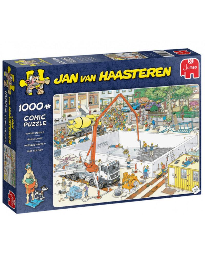 Jan van Haasteren Jan van Haasteren bijna klaar - 1000 stukjes