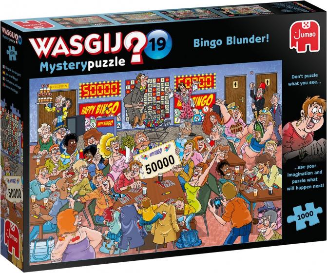 Jumbo Wasgij Mystery-19 - 1000 stuks