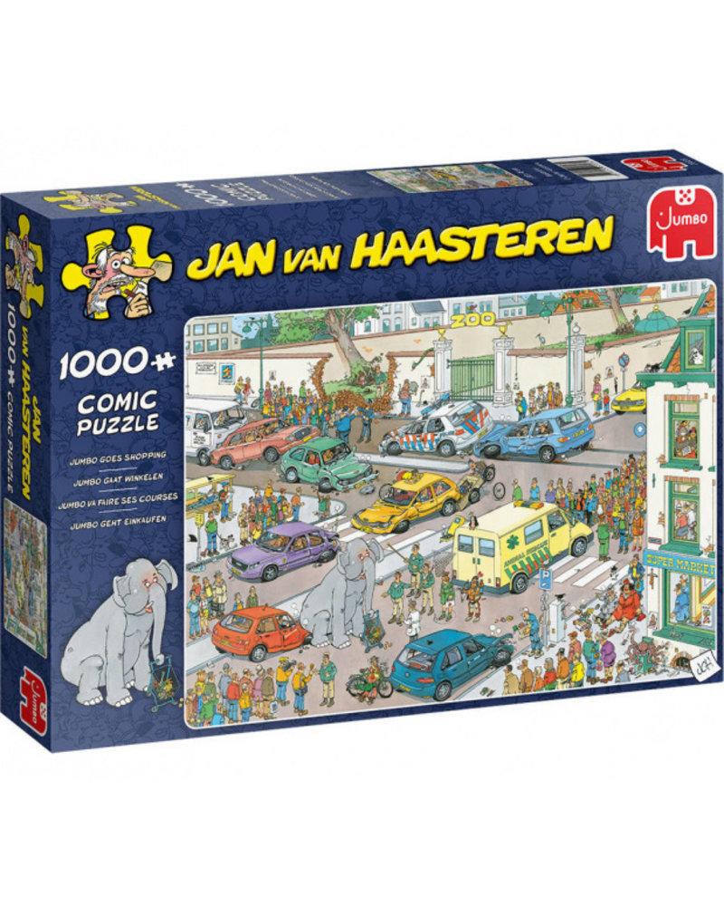 Jan van Haasteren Jan van Haasteren - Jumbo gaat winkelen - 1000 stukjes