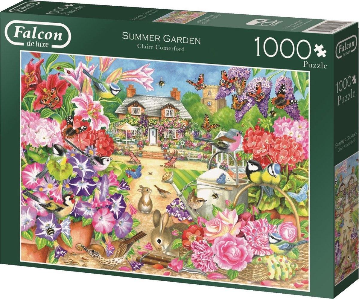Jumbo Falcon Summer Garden - 1000 stukjes