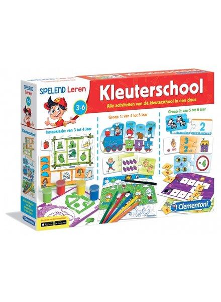 Clementoni kleuterschool leerspel