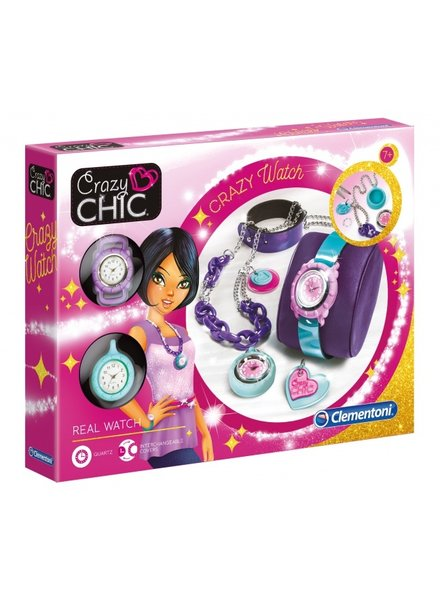 Clementoni Crazy Chic maak jouw eigen horloge 8-delig