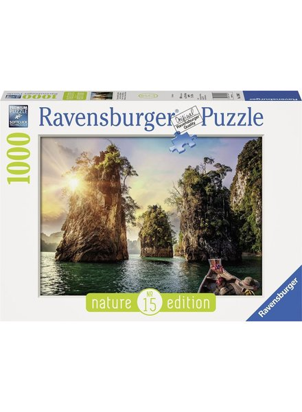 Ravensburger Puzzel 1000 stukjes Three rocks in Cheow, Thailand
