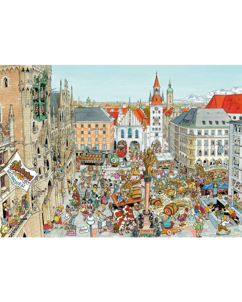 Ravensburger Puzzel 1000 stukjes Fleroux Munchen