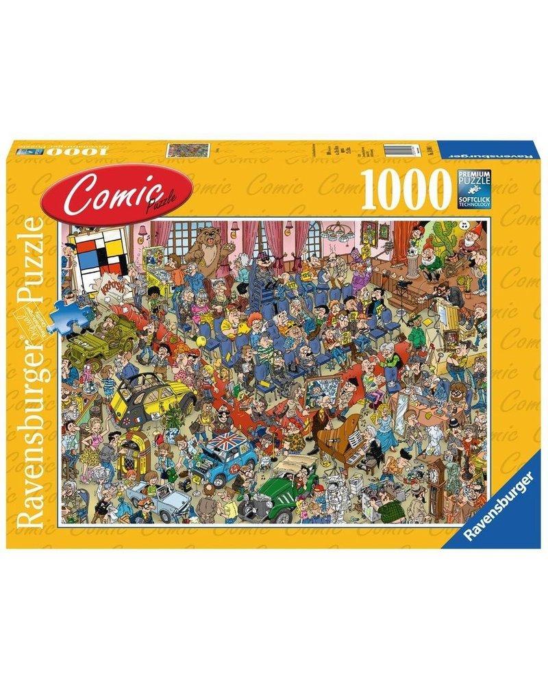 Ravensburger Puzzel 1000 stukjes de Veiling