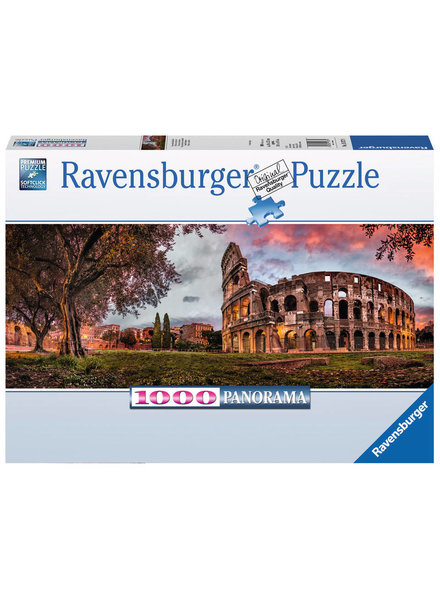 Ravensburger Puzzel 1000 stukjes Colosseum in het avondrood