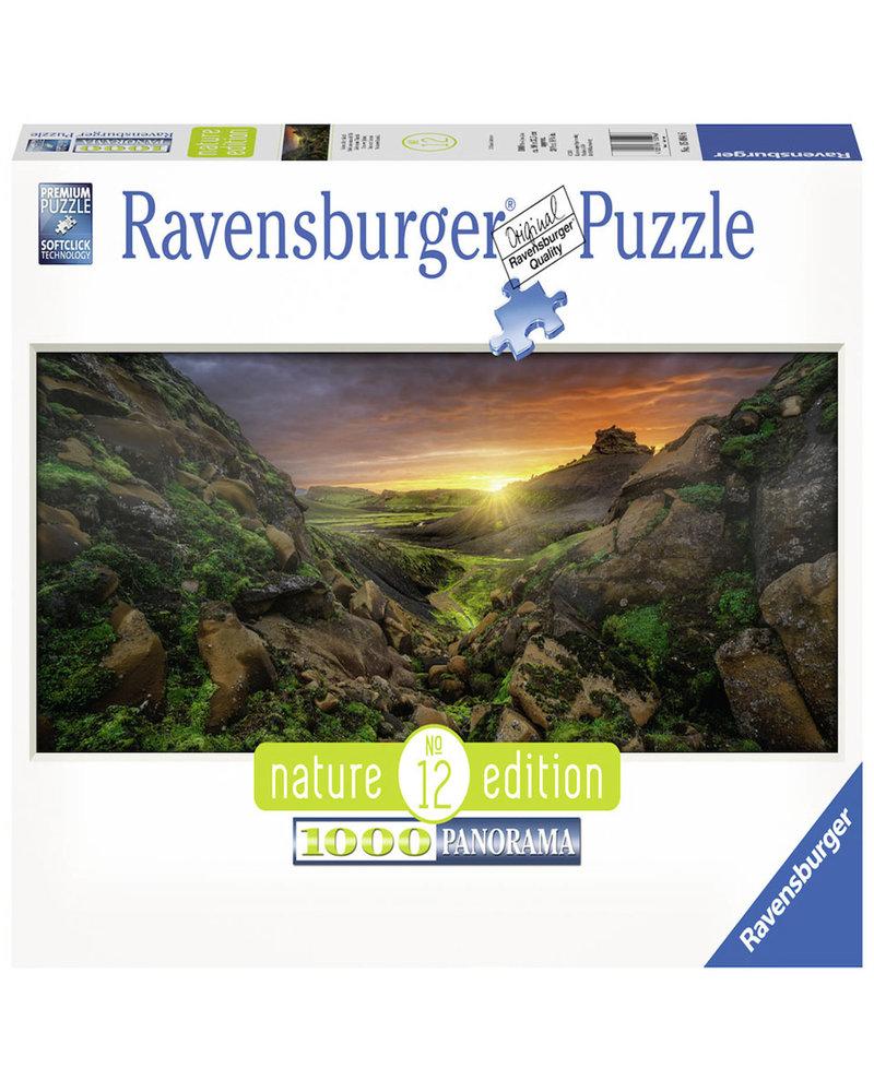 Ravensburger Puzzel 1000 stukjes Zon over IJsland