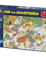 Jan van Haasteren Puzzel 1500 stukjes Jan van Haasteren Wild Water Raften