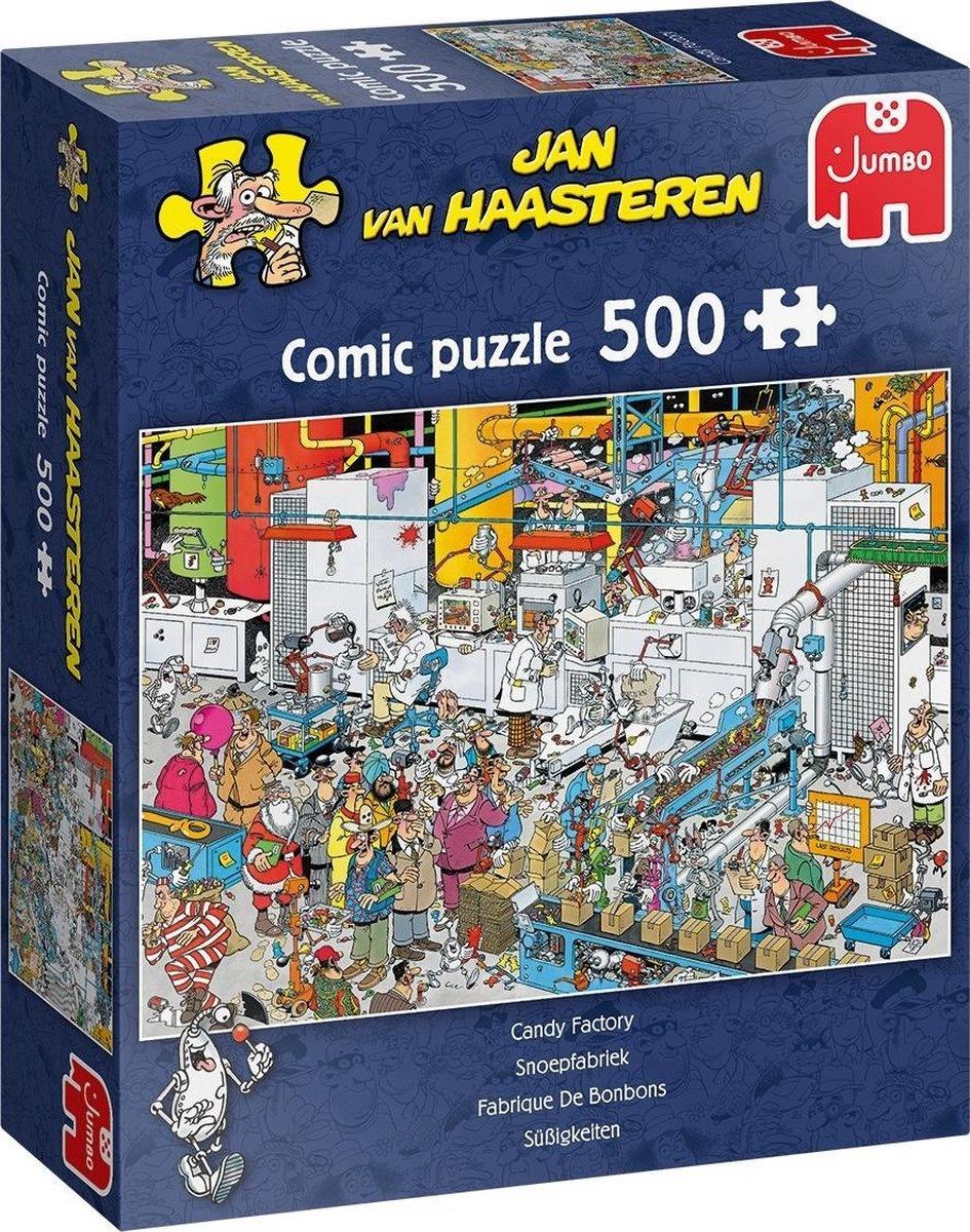 Jan van Haasteren Puzzel 500 st. Jan van Haasteren Snoepfabriek