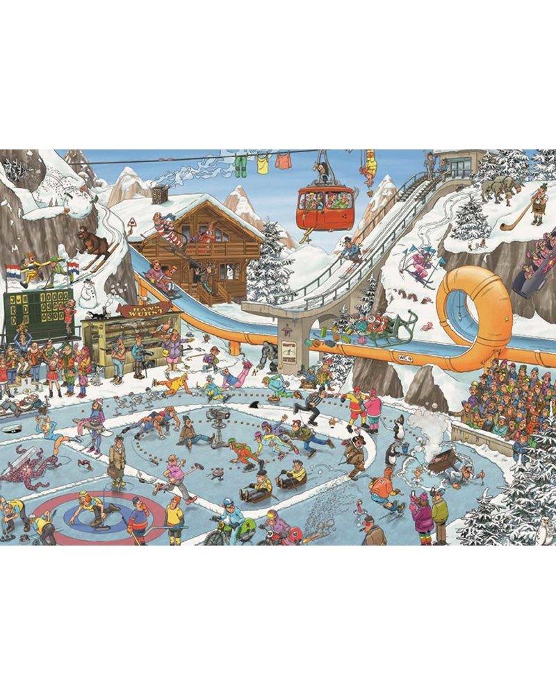 Jan van Haasteren Puzzel 1000 st. JvH De winterspelen