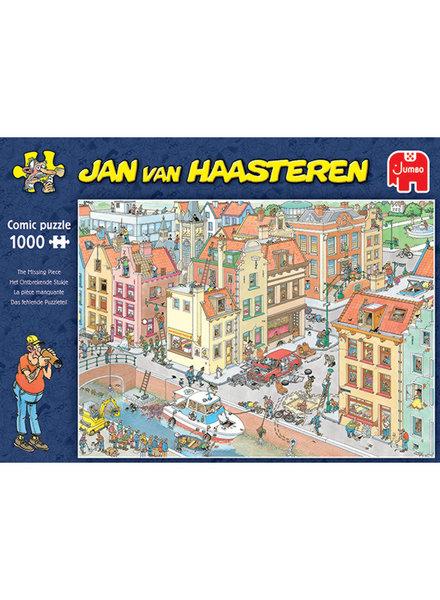 Jan van Haasteren Puzzel 1000 st. Jan van Haasteren Het ontbrekende stukje