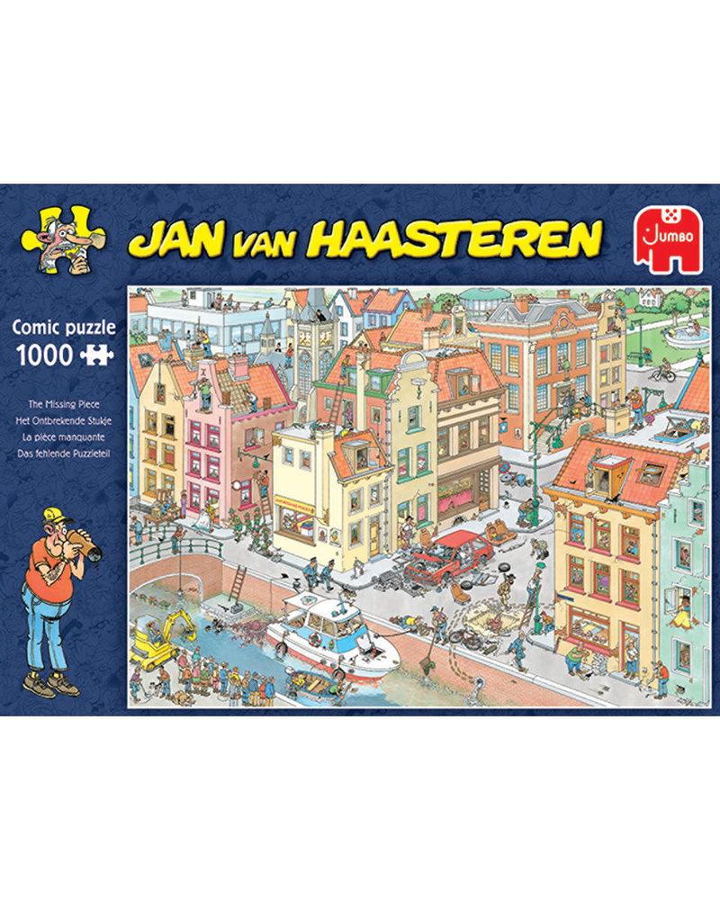 Jan van Haasteren Puzzel 1000 st. Het ontbrekende stukje