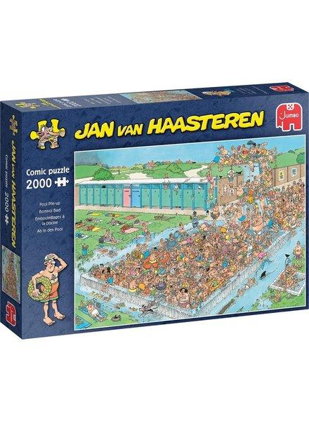 Jan van Haasteren Puzzel 2000 st. Jan van Haasteren Bomvol Bad