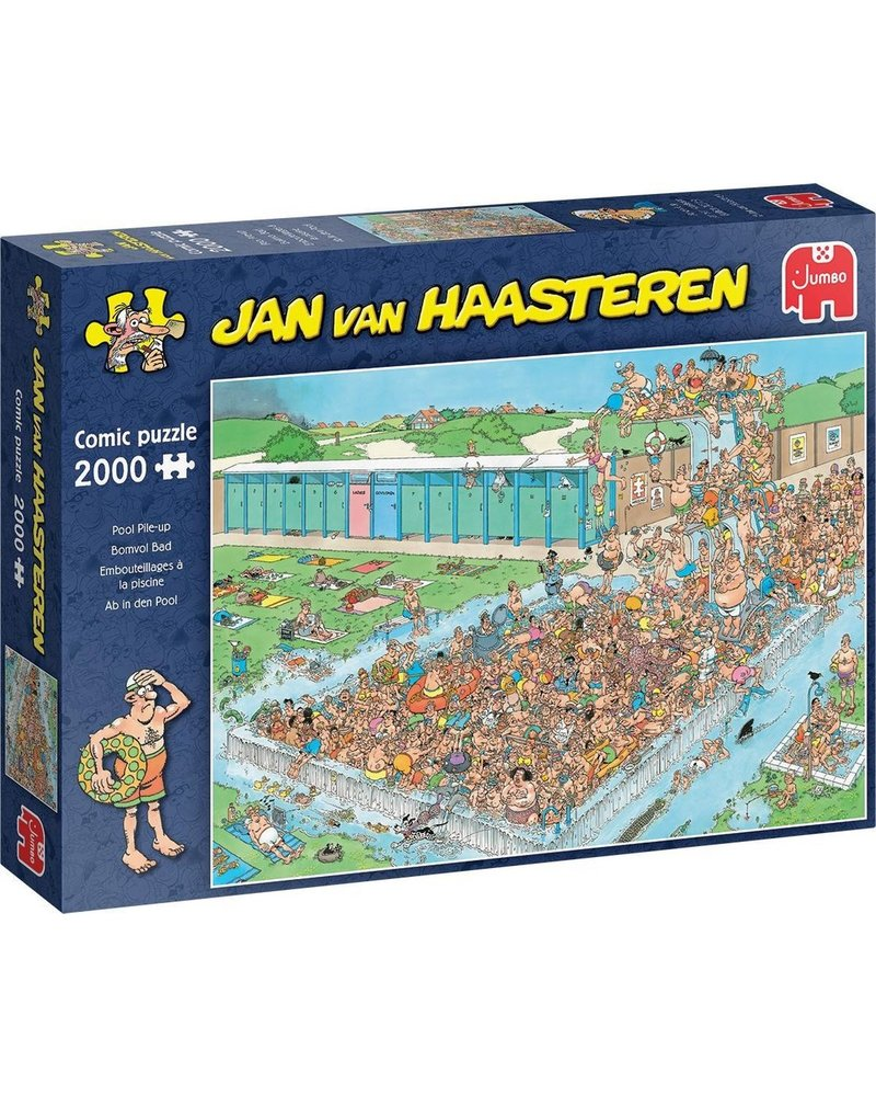 Jan van Haasteren Puzzel 1000 st. JvH Bomvol Bad