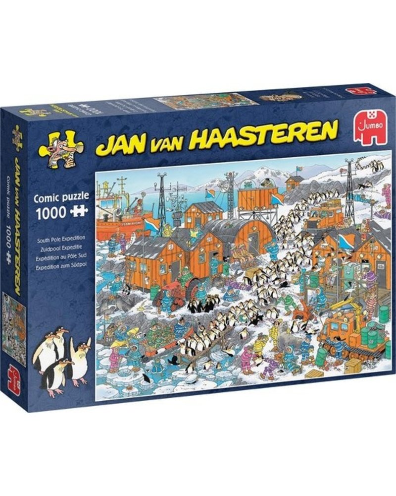 Jan van Haasteren Puzzel 1000 st. JvH Zuidpool Expeditie