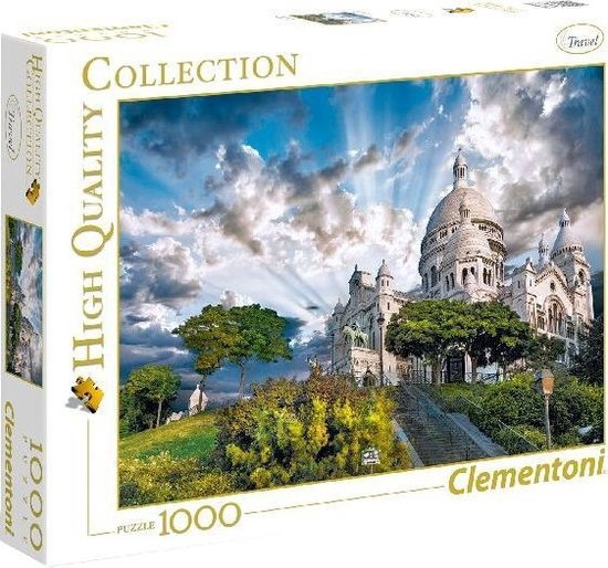 Clementoni Clementoni Puzzel High Quality 1000 stukjes Montmartre