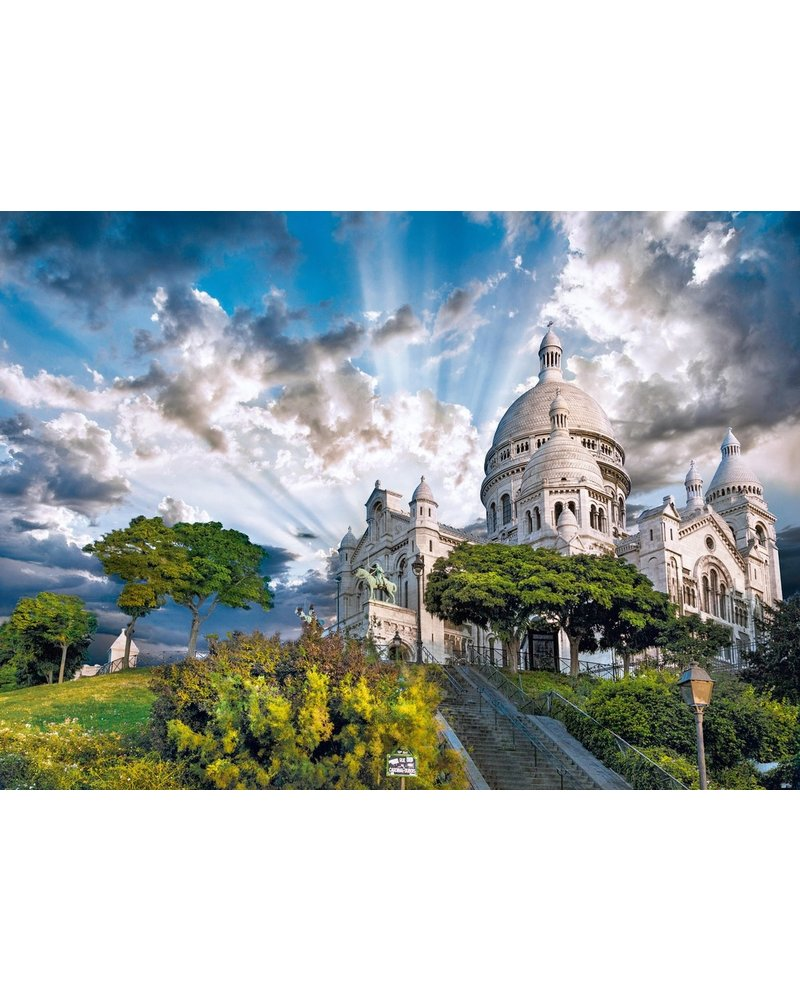 Clementoni Puzzel High Quality 1000 stukjes Montmartre