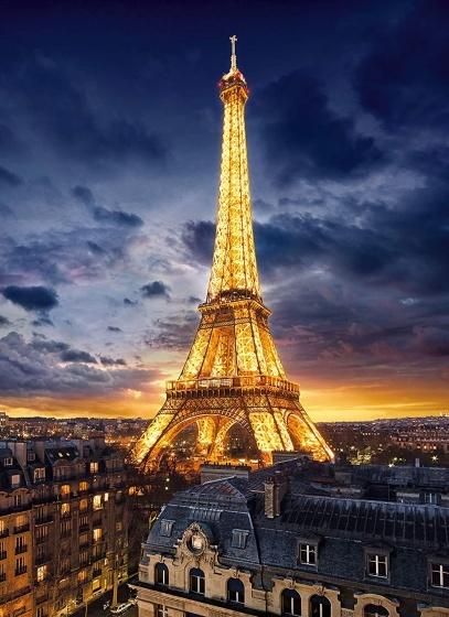 Clementoni Clementoni Puzzel High Quality 1000 stukjes Eiffeltoren
