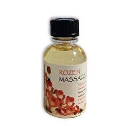 DeOliebaron Rozen Massage Olie 30 ml