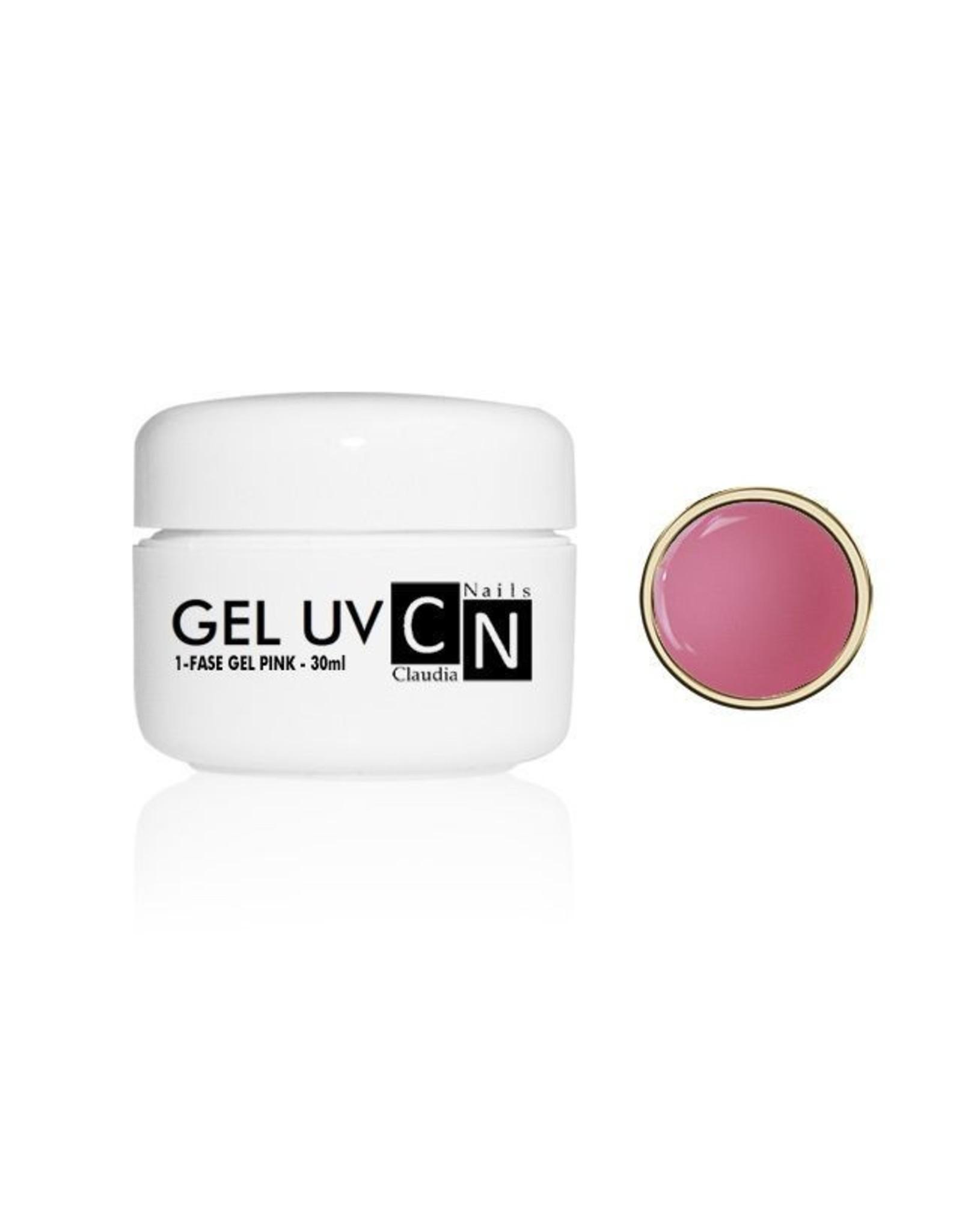ClaudiaNails 1-fase gel roze 30 ml
