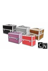 Merkloos Aluminium luxe koffer - zilver