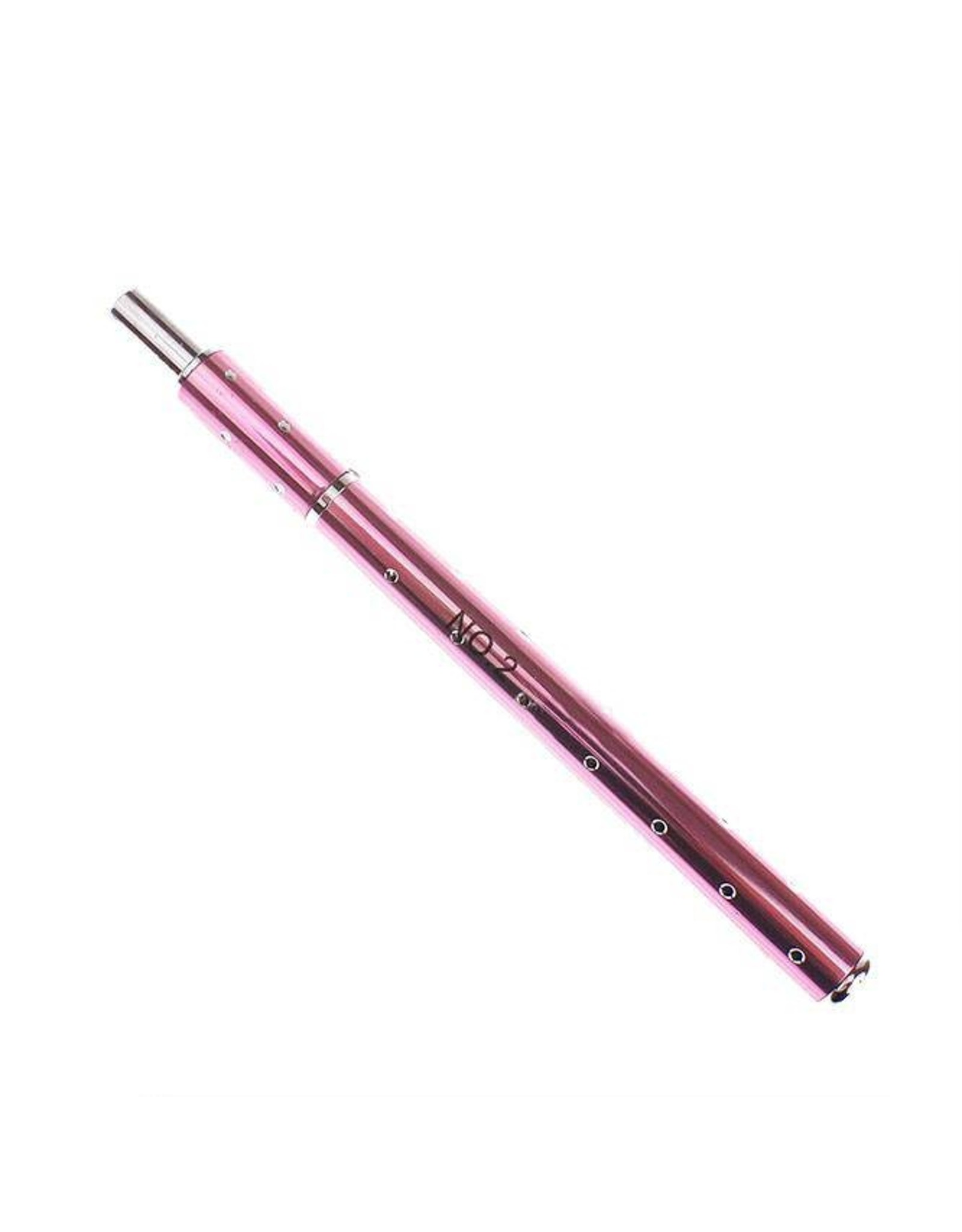 Merkloos Gel-Penseel Roze nr. 2 met steentjes